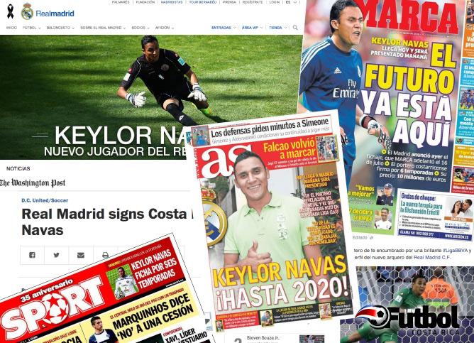 Los principales diarios de España y el mundo, así como la web oficial del Club confirmaron la noticia el mediodía de este domingo.