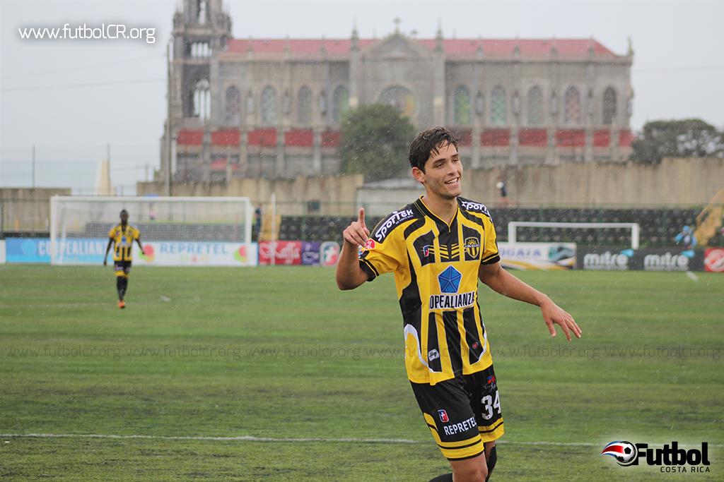 Jonathan Moya marcó el único gol del juego. Foto: Archivo