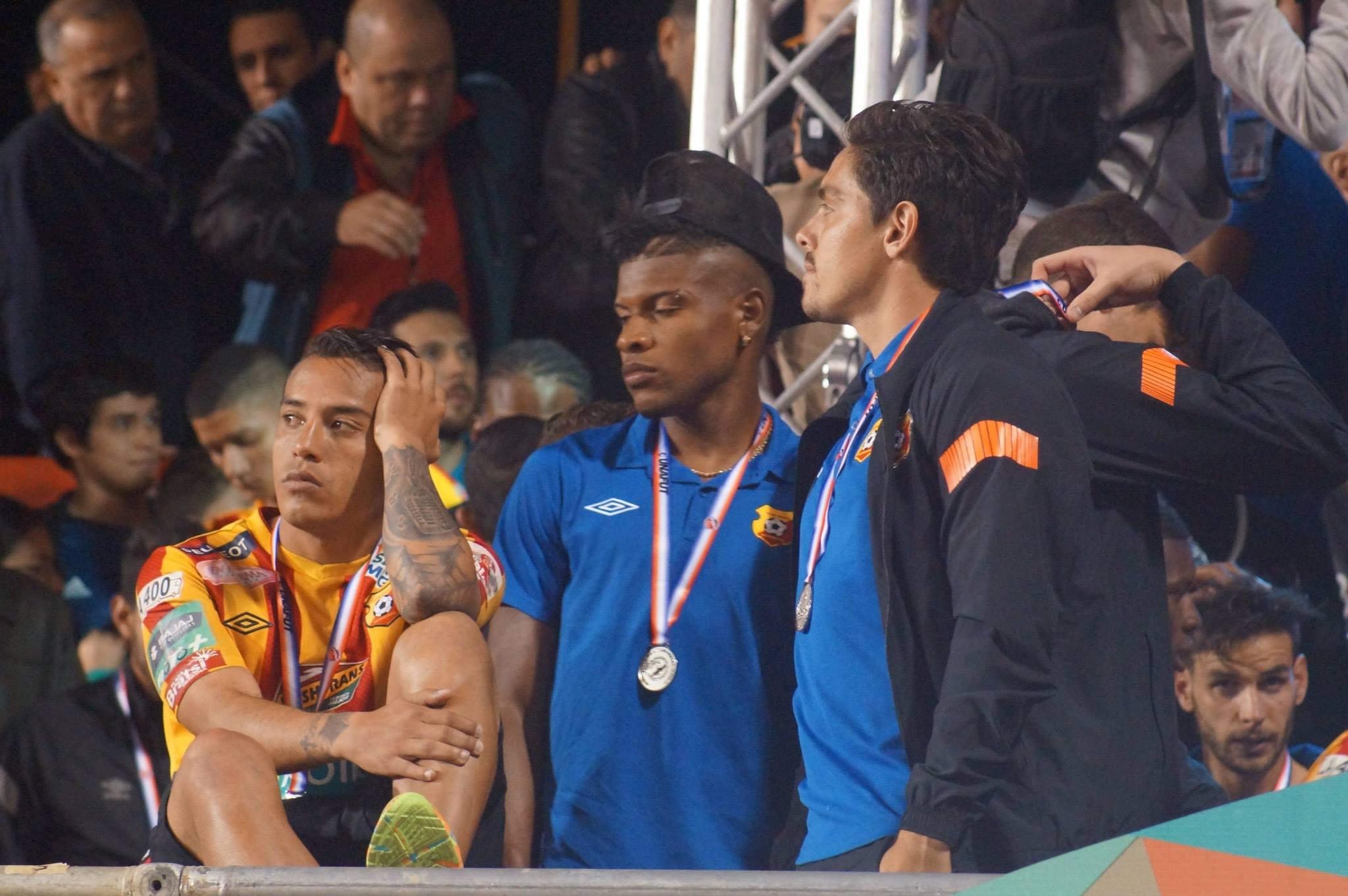 Andrey Francis y Luis Diego Cordero, entre los jugadores que se marchan del club florense.