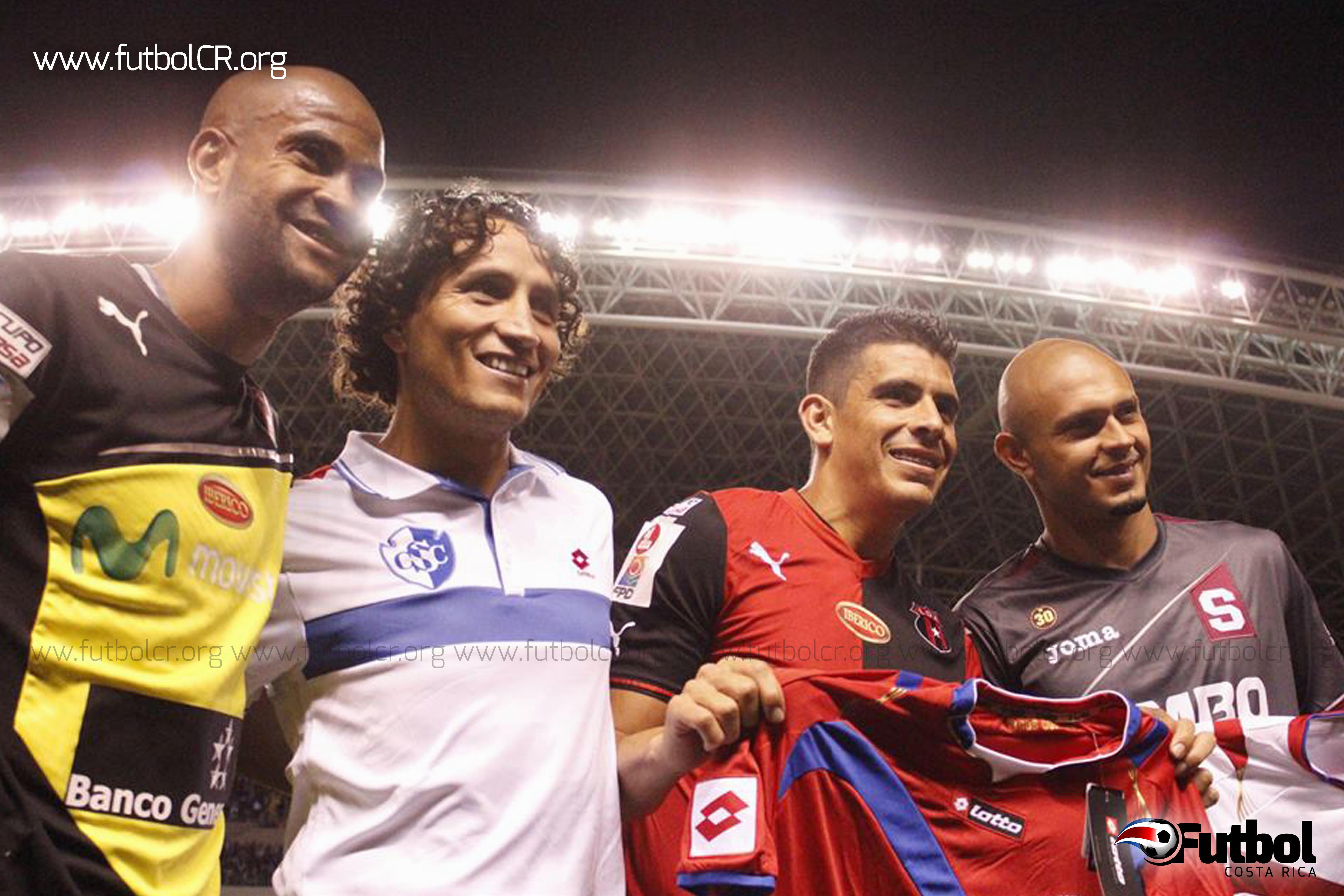 Durante la actividad, la Selección Nacional fue homenajeada por lo hecho en Brasil 2014. En representación de la tricolor, Patrick Pemberton, Randall Brenes, Johnny Acosta y heiner Mora lo recibieron.,