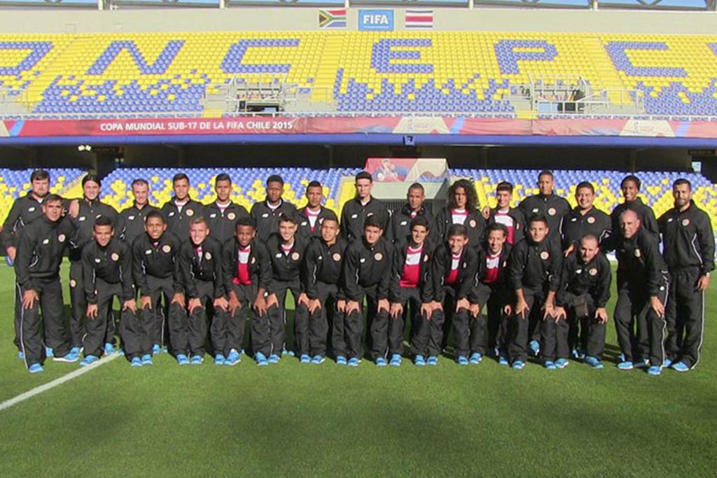 Concepción y Puerto Montt fueron las sedes de Costa Rica durante el mundial. Foto: Prensa Federación Costarricense de Futbol