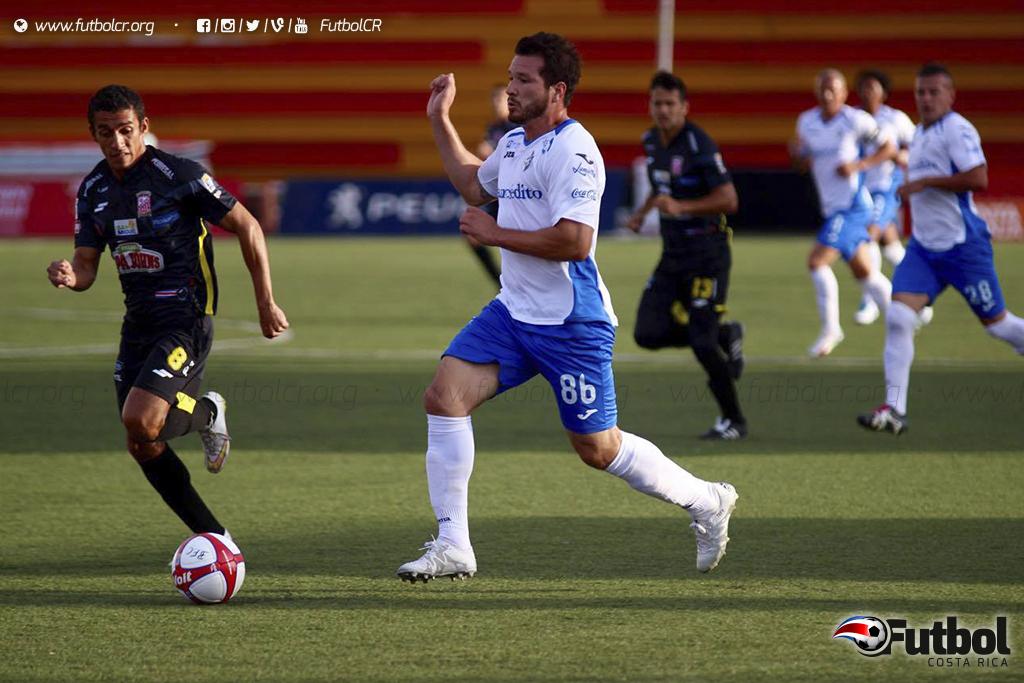 Con varias sorpresas como Jorge Alejandro Castro en la titular, el Club Sport Cartaginés no le alcanzó llevarse la victoria. Foto: Futbol Costa Rica.