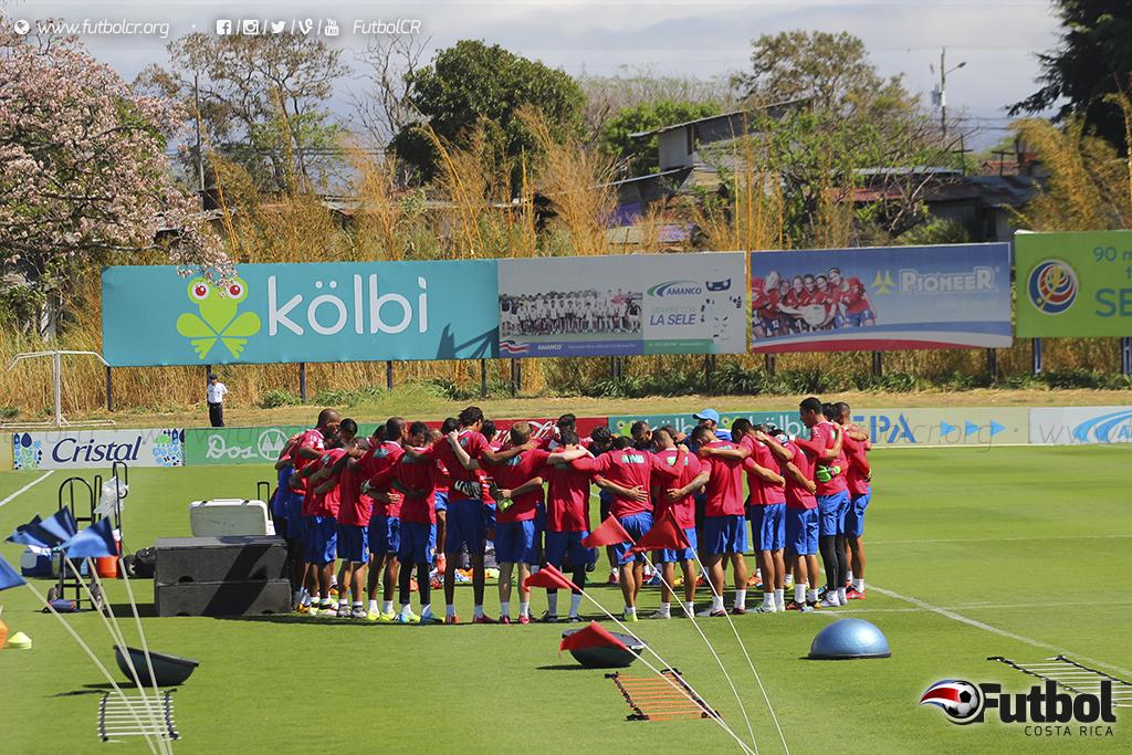 Con todos los legionarios en el Proyecto Goal, Oscar Ramírez inició la preparación de este juego. Foto: Steban Castro.