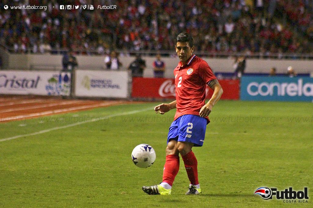 Criticado por muchos durante el partido, pero con gol silenció a otros Acosta. Foto: Adrián Escalante. Archivo.