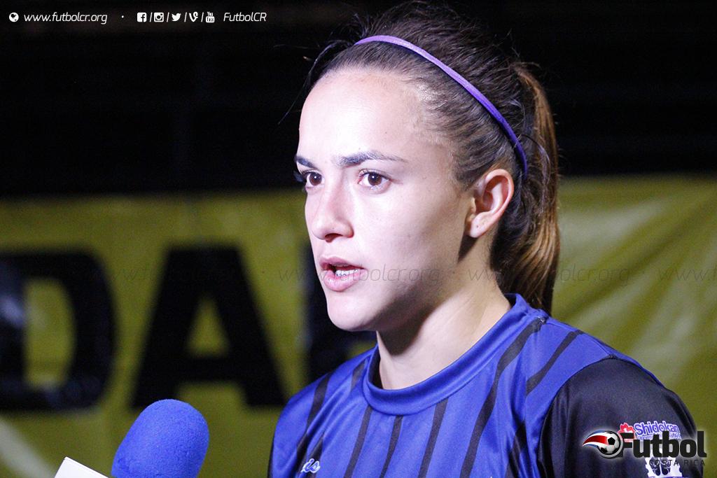 Nuevo reto. Con muchas ansias Herrera irá a Estados Unidos a mostrar del por qué la ficharon. Foto: Steban Castro.