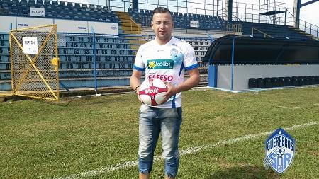 De regreso. Guzmán volverá a sus raíces después de su paso por Alajuelense y Cartaginés. Foto: Prensa Municipal Pérez Zeledón.
