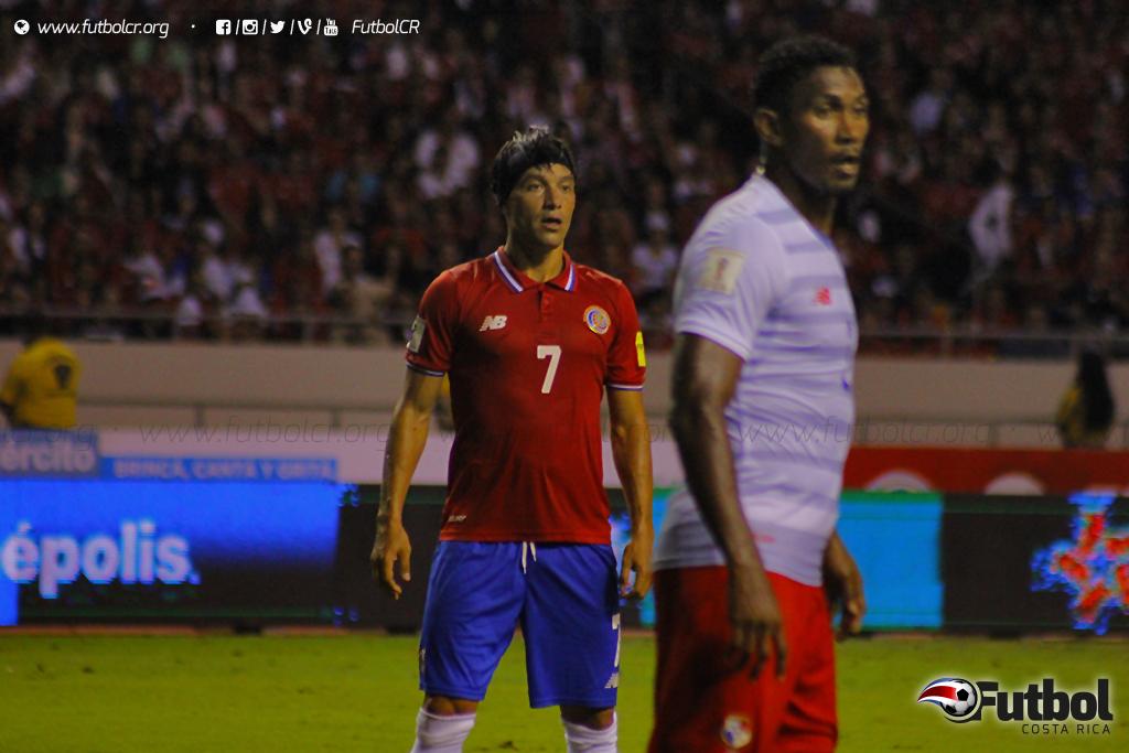 Bolaños volvió al gol con la selección nacional. Foto: Steban Castro.
